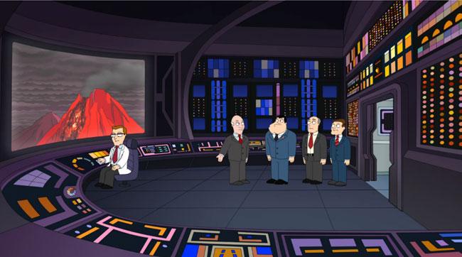 Patrick Stewart stuns Star Trek fans on American Dad (I Ain't No Holodeck Boy)