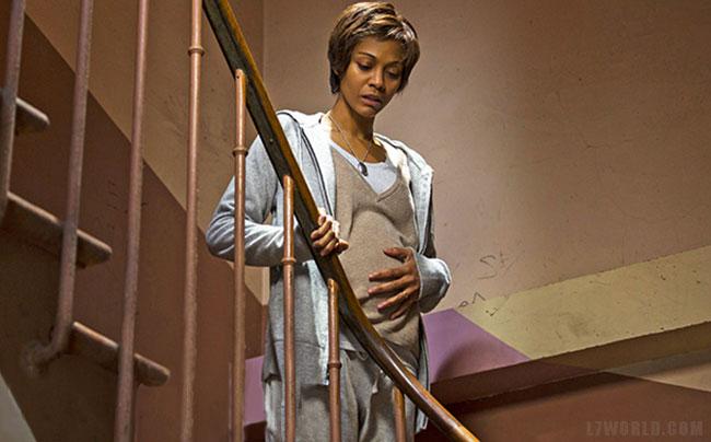 Rosemary's Baby miniseries teaser (Zoe Saldana short hair)