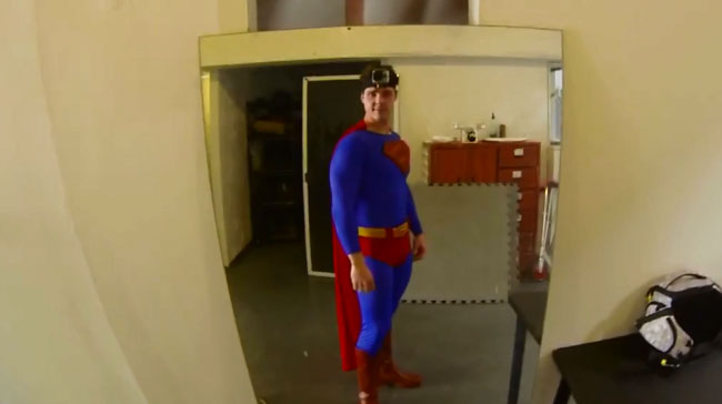 Superman returns GoPro camera and takes you along for the ride