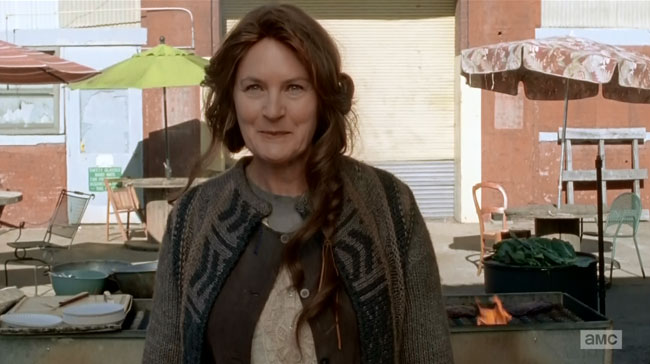 The Walking Dead Us (Denise Crosby Terminus Barbecue grill)