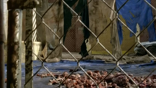 The Walking Dead Terminus trap set by cannibals known as Hunters