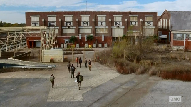 The Walking Dead Us (Terminus building)