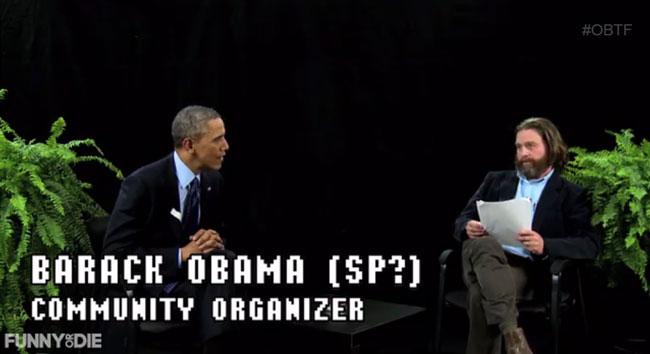 Zach Galifianakis calls Barack Obama last black President