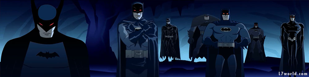 Batman Beyond VS Batman The Animated Series in new short (batmen robots)