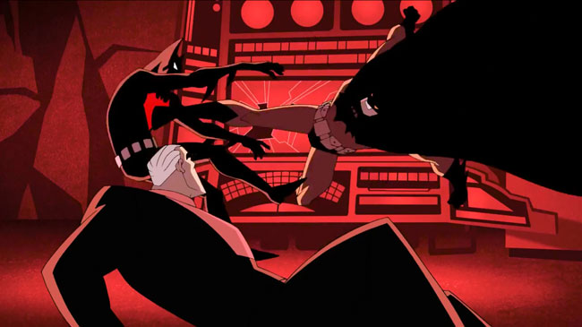 Batman Beyond VS Batman The Animated Series in new short