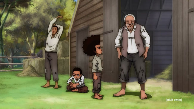 Boondocks season 4 trailer (slaves)