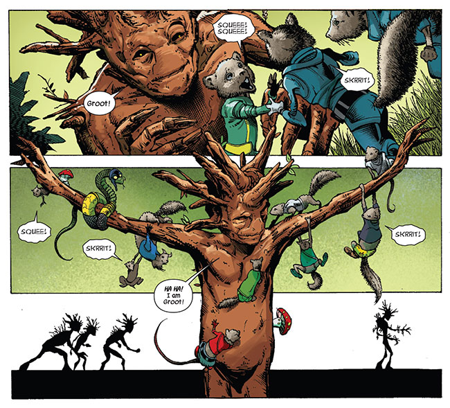 Guardians of the Galaxy 14 Groot origin