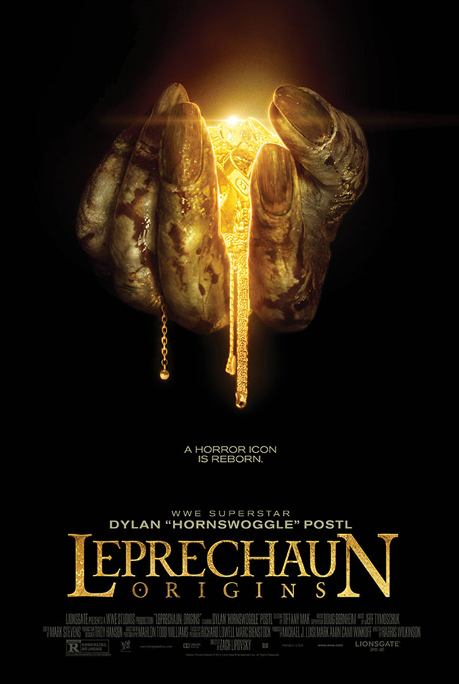 Leprechaun reboot starring WWE wrestler Hornswoggle (Leprechaun Origins)