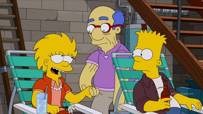 Lisa Simpson a necrophile (Days of Future Future - Zombie Milhouse)