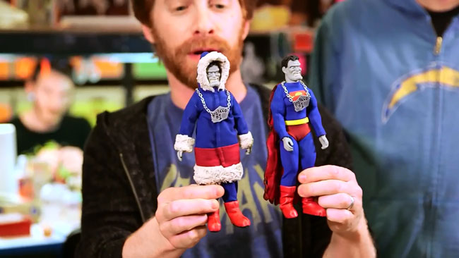 Robot Chicken DC Comics Special II Villains In Paradise (Seth Green - Bizarro parka swimsuit)