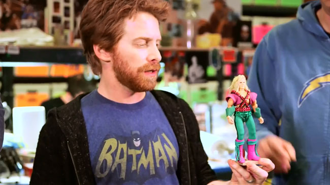 Robot Chicken DC Comics Special II: Villains In Paradise sneak peek (Seth Green - Sex Lex Luthor