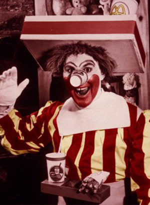 Ronald McDonald Willard Scott