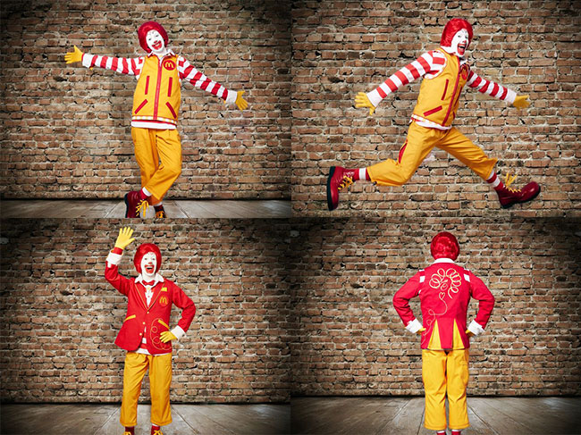 Ronald McDonald costume gets modern makeover