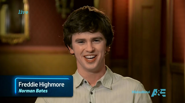 Bates Motel After Hours The Immutable Truth - Norman (Freddie Highmore)