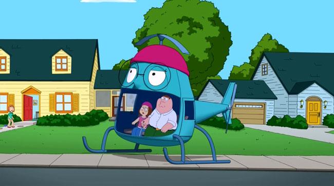 Family Guy Meg Copter (Meg Stinks)