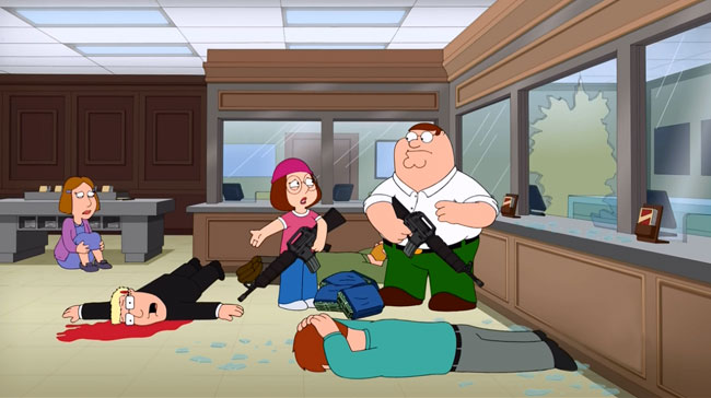 Family Guy reveals the funding for Peter's shenanigans (Meg Stinks)