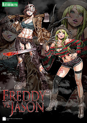 Freddy vs. Jason Bishoujo Statues Freddy Krueger and Jason Voorhees (Shunya Yamashita)
