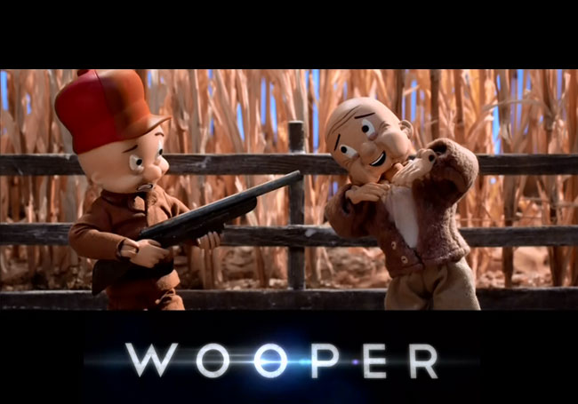 Robot Chicken Looper parody stars Elmer Fudd as the Wooper