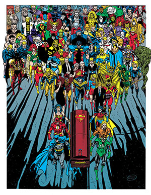 Superman Funeral For A Friend