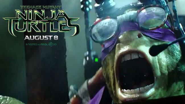 Teenage Mutant Ninja Turtles trailer 2 gets up close and personal