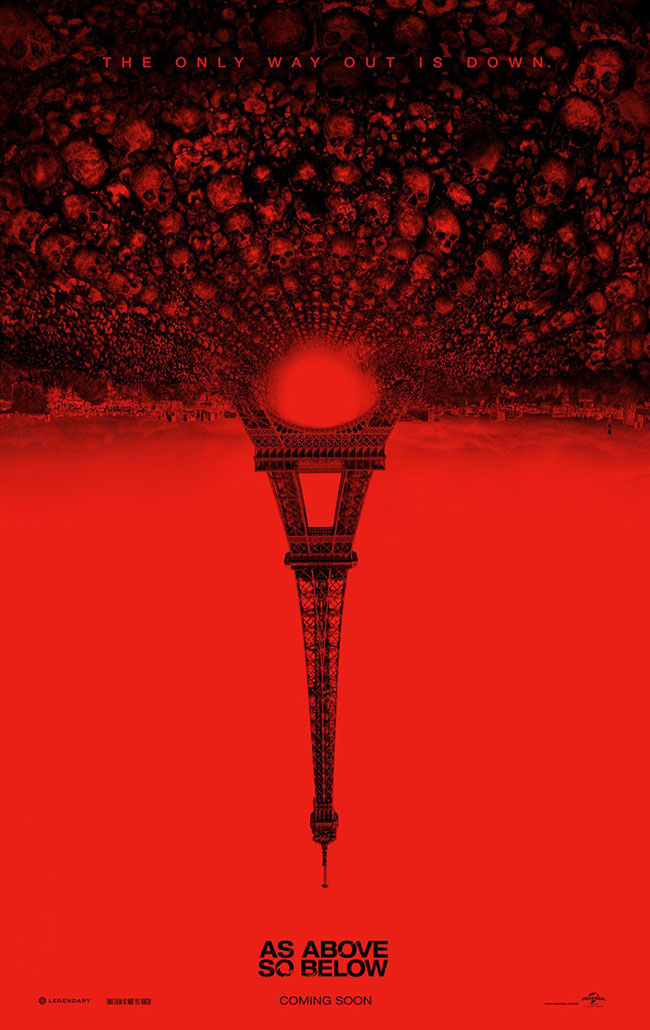 As Above So Below poster (Eiffel Tower)