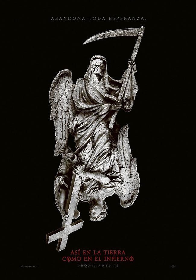 As Above So Below poster (Angel Demon)