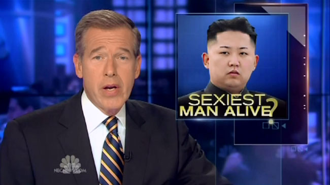 Brian Williams Raps Baby Got Back on Tonight Show