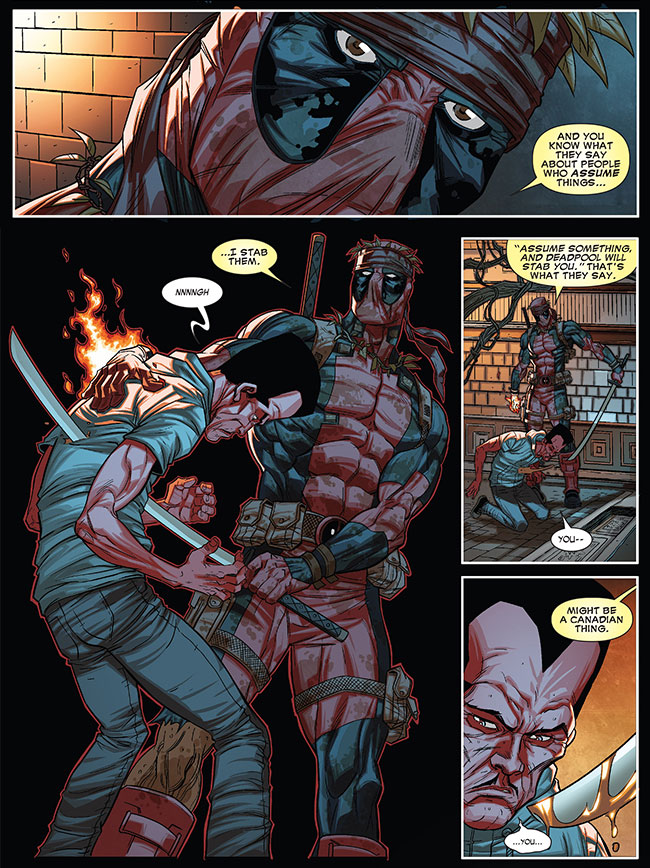 Deadpool kills Leader (Thunderbolts 26)