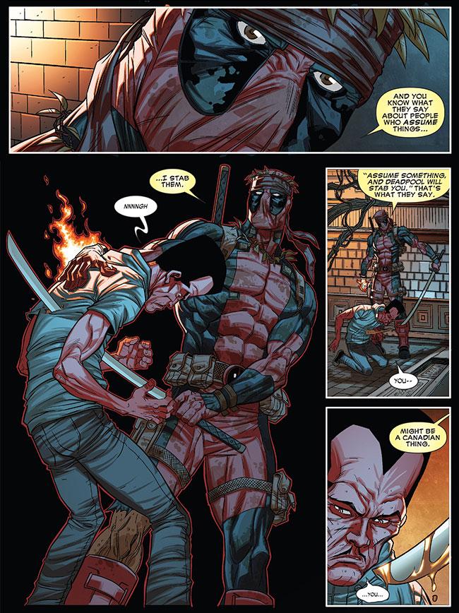 Deadpool kills Leader (Thunderbolts 26)