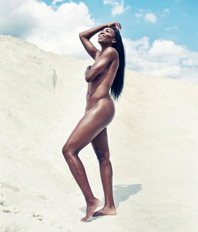 ESPN magazine features Venus Williams nude photos full