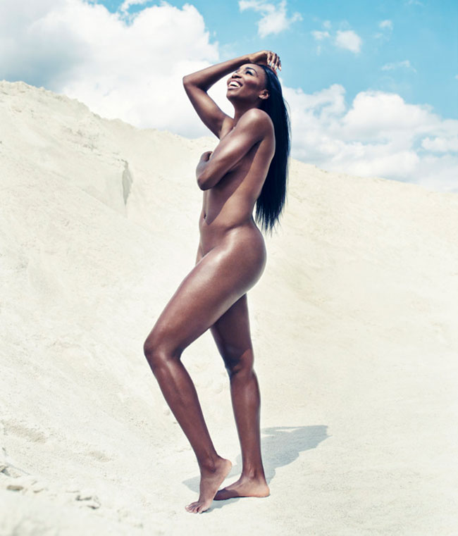 ESPN magazine features Venus Williams nude photos full