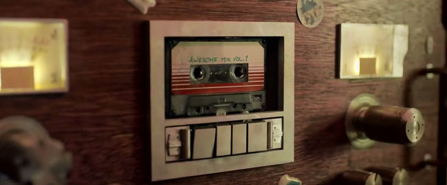 Guardians of the Galaxy trailer (Blue Swede Hooked On A Feeling - Awesome Mix Vol. 1)