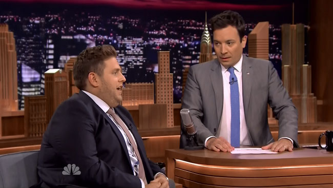 Jonah Hill apologizes for homophobic slur on The Tonight Show with Jimmy Fallon