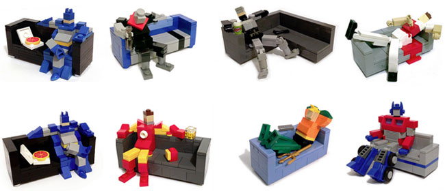 LEGO couch potato series