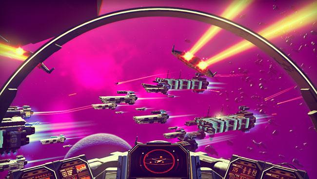 No Man's Sky game spaceship