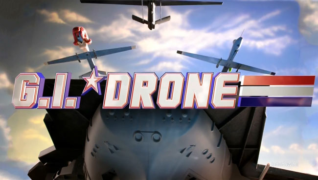Robot Chicken replaces G.I. Joe with G.I. Drone