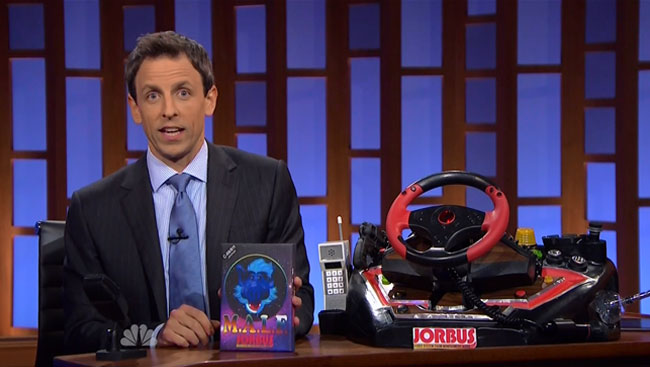 Seth Myers plays classic video game console JORBUS (M.A.L.F.)