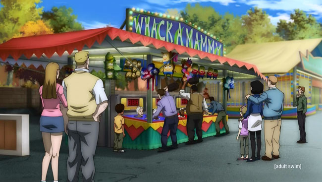 The Boondocks open slavery theme park Freedomland (Whack a Mammy)