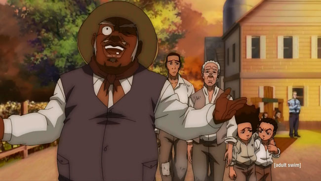 The Boondocks open slavery theme park Freedomland