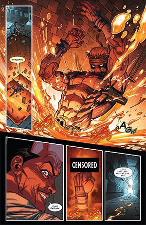 Thunderbolts 26 Deadpool middle finger Terminator 2
