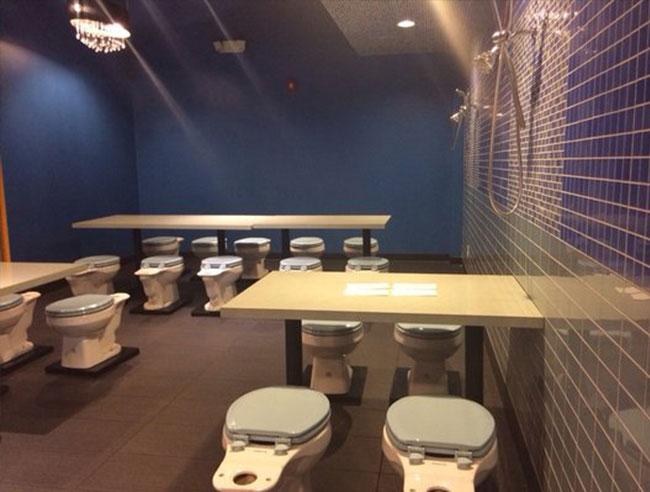 modern toilet taiwans most cherished theme restaurant