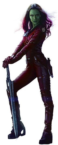 Zoe Saldana Guardians of the Galaxy Gamora