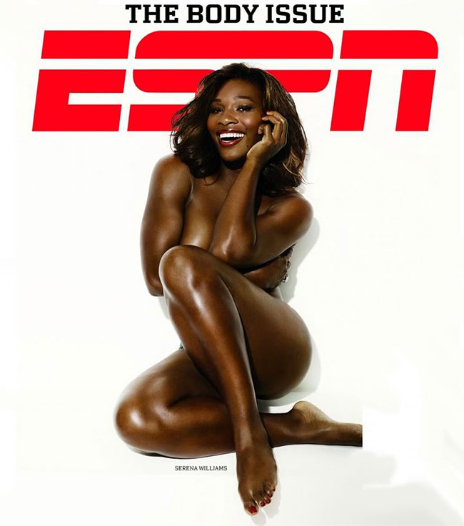 Serena Williams nude ESPN magazine
