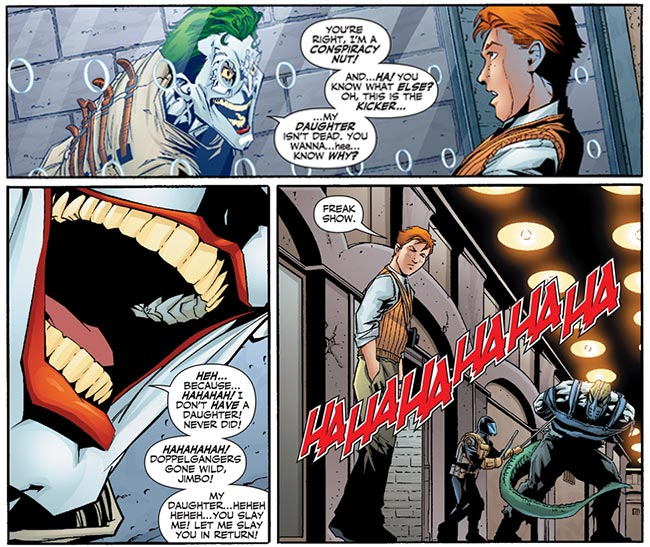 Countdown 50 Joker daughter Duela Dent Jimmy Olsen