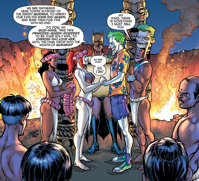Harley Quinn Futures End Joker Harley Wedding