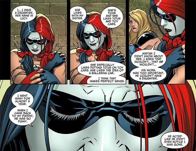 Injustice Gods Among Us Year Two 13 Black Canary Harley Quinn daughter Lucy