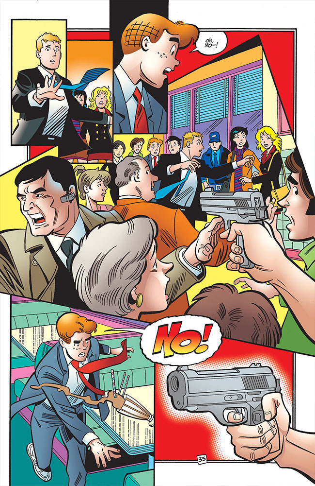 Life with Archie 36 Archie dies Kevin Betty Veronica