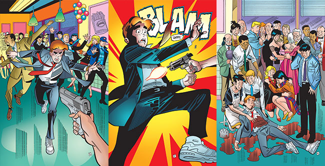 Life with Archie 36 Archie death Kevin Betty Veronica