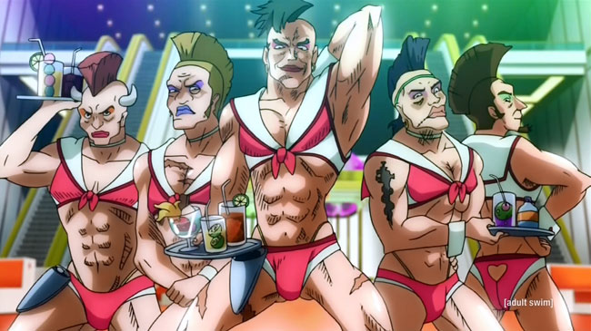 Space Dandy Male Boobies (I Can't Be the Only One, Baby)
