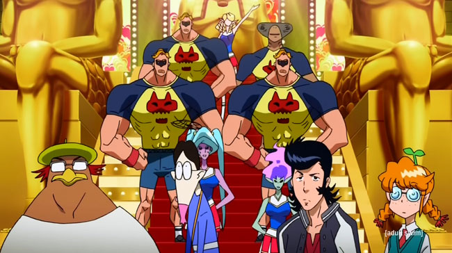 Space Dandy enrolls at Glee high school (The Transfer Student is Dandy, Baby)